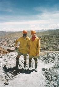 ©1997 Entering Potosí Silver Mine, Bolivia