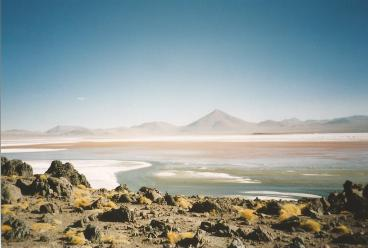 ©1997 Lago Colorado, Bolivia