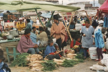 ©1997 Saquisili market, Ecuadorean Andes